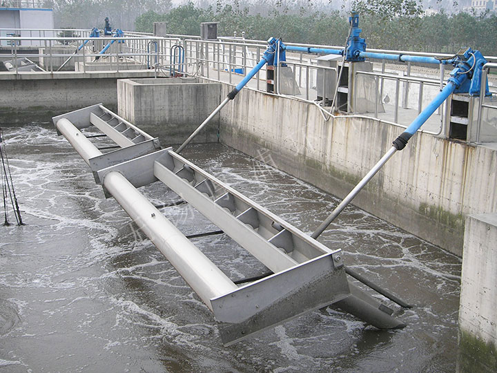 shan东枣庄污水厂-滗水器