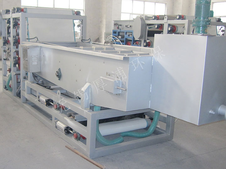 shan东枣庄污水厂-带式压滤机